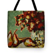 Morning Moment Tote Bag by Vickie Warner