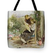 Morning News Tote Bag