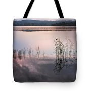 Morning Nocturne. Ladoga Lake. Northern Russia  Tote Bag
