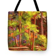 Morning On Beartree Road Tote Bag
