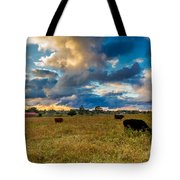 Morning On The Farm Two Tote Bag