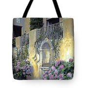 Morning On The Palazzo Tote Bag