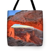 Morning Paint Tote Bag