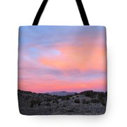 Morning Paints Tote Bag