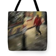 Morning People - The Man Tote Bag