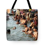 Morning Prayers And Ablutions Tote Bag