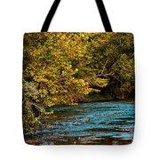 Morning River Tote Bag