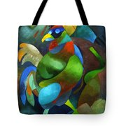Morning Rooster Tote Bag