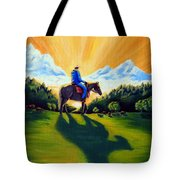 Morning Rounds Tote Bag