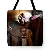Morning Saddles Tote Bag