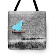 Morning Sail Tote Bag by James Brunker