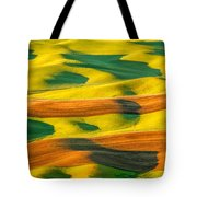 Morning Shadows On The Palouse Tote Bag