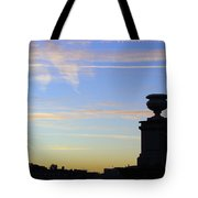 Morning Silhouette Tote Bag