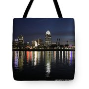 Morning Skyline Wo Bridge I Tote Bag