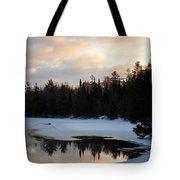 Morning Stillness Tote Bag
