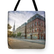 Morning Stroll Tote Bag by Eric Gendron