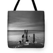 Morning Suds Bw Tote Bag