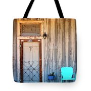 Morning Sun Pioneer Town Tote Bag