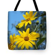 Morning Sunflowers Tote Bag