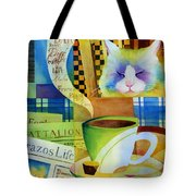 Morning Table Tote Bag
