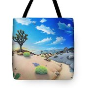 Joshua Tree Morning To Night Tote Bag