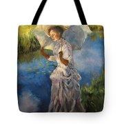 Morning Walk Tote Bag by Diane Kraudelt