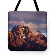 Morning's First Rays Tote Bag