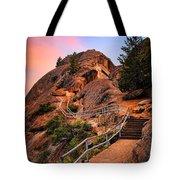 Moro Rock Path Tote Bag by Inge Johnsson