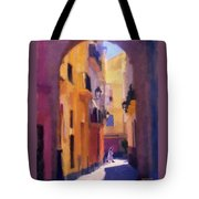 Moroccan Light Tote Bag by Bob Galka