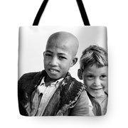 Moroccan School Boys Tote Bag