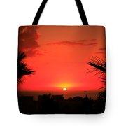 Moroccan Sunset Tote Bag