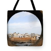 Moroccan View Tote Bag