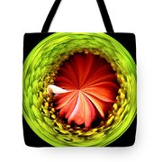 Morphed Art Globe 1 Tote Bag by Rhonda Barrett