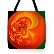 Morphed Art Globe 19 Tote Bag by Rhonda Barrett