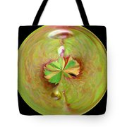 Morphed Art Globe 21 Tote Bag by Rhonda Barrett