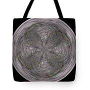 Morphed Art Globe 26 Tote Bag