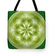 Morphed Art Globe 27 Tote Bag by Rhonda Barrett