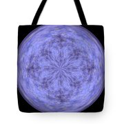 Morphed Art Globe 30 Tote Bag
