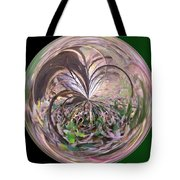 Morphed Art Globe 36 Tote Bag by Rhonda Barrett