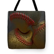 Morphing Baseballs Tote Bag by Bill Owen