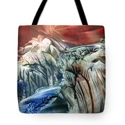 Morphing Obscure Horizons Into Shifting Emotions Tote Bag