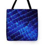 Morpho Butterfly Scales Tote Bag