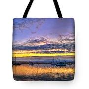 Morro Bay Panorama Tote Bag