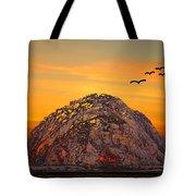 Morro Rock 3007 Tote Bag