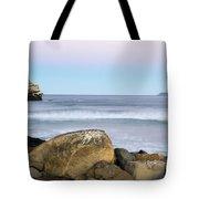 Morro Rock Morning Tote Bag