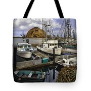 Morro Sunrise Tote Bag