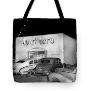 Mortimers Dining  Dancing Marina California  Circa 1948 Tote Bag
