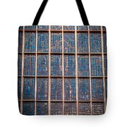 Mosaic Alamo In Glass Tote Bag