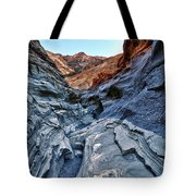 Mosaic Canyon In Death Valley Tote Bag