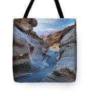 Mosaic Canyon Twilight Tote Bag